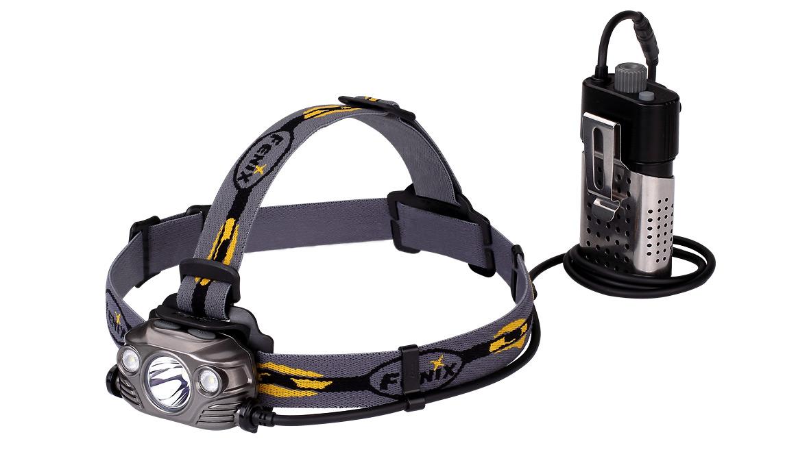 Nabíjací LED čelovka Fenix HP30R