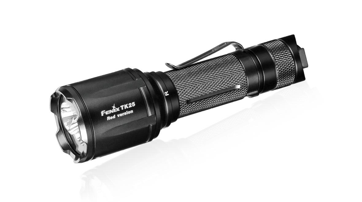 Taktické LED svietidlo Fenix TK25 Red