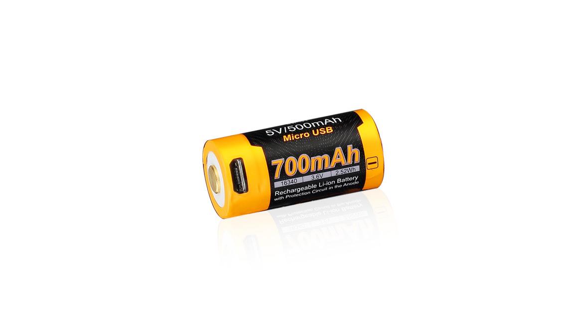 Akumulátor 16340/RCR123A Fenix ARB-L16-700UP