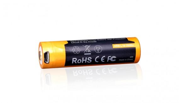 Nabíjateľná USB batéria 18650 Fenix ARB-L18-2600U