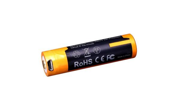 Dobíjateľná USB AA batéria Fenix ARB-L14-1600U
